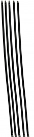 Veegset  6 meter met nylonborstel(Ø80, 100, 120, 125, 130, 150, 180, 200, 250 mm)