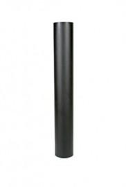 EW/120 2mm Pijp 100cm - zonder verjonging - Zwart