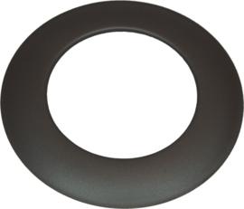 EW/Ø180 2mm Rozet (Kleur: Zwart)
