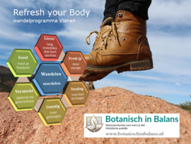 Losse wandeling Refresh your Body