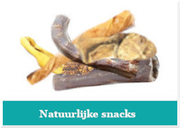 Natuurlijke snacks voor hond, kat en fret