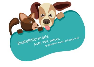 Bestel vers vlees voor hond en kat bij Botanisch in Balans Vianen