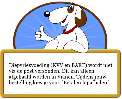 DARF Caspar KVV verse vleesmix voor honden met kipallergie rundallergie