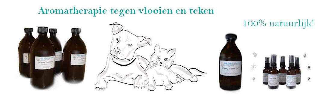 Natuurlijk middel tegen vlooien en teken bij hond en kat