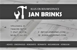 Klus en bouwservice Jan Brinks