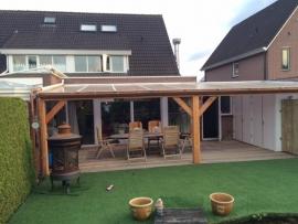 54) Douglas veranda/overkapping