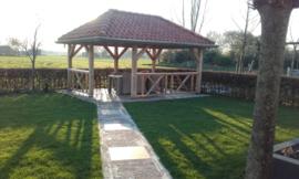 266) Tuin veranda met uitzicht