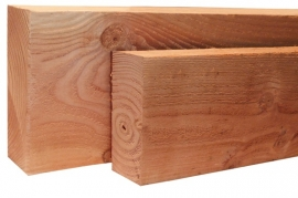 5 x 7,5 x 100 cm regel Blank Douglas fijnbezaagd