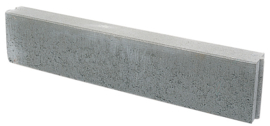 Betonband Grijs 6 x 20 x 100 cm
