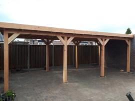 259) Douglashouten veranda's