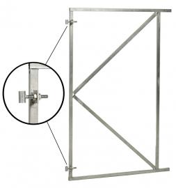 Poortframe verstelbaar (H) 155 x (B) 100