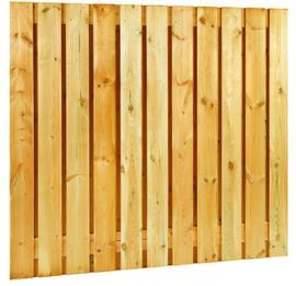 23-planks Grenen scherm 180 x 180 cm