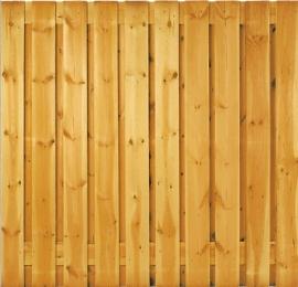 21-planks Grenen scherm 180 x 180 cm