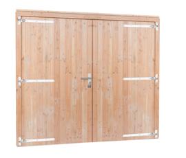 Douglas dubbele deur extra breed en hoog