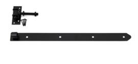Verstelbare heng 60 cm zwart gecoat
