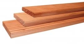 Vlonderplank geprofileerd 2,4 x 13,8 x 400 cm Blank Douglas