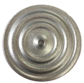 Bevestigingsschotels voor isolatie platen (incl. schroeven 3,5 x 30 mm) per 100st