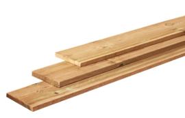 Fijnbezaagde planken 2,2 x 20 x 360 cm Geïmpregneerd