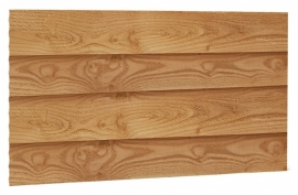 Zweeds rabat 1,1 - 2,7 x 19,5 x 400 cm Blank Douglas