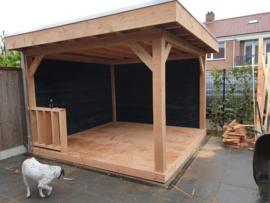 256) Buiten veranda's Douglashout