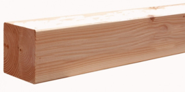 14 x 14 x 200 cm Douglas geschaafd Blank