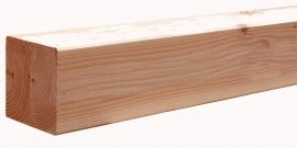 14 x 14 x 240 cm Douglas geschaafd Blank