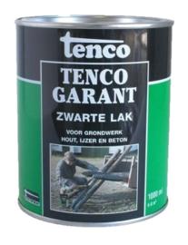 Teervrij zwarte lak 1 liter (bitumen vervanger)