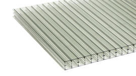 Polycarbonaat dakplaten 3000 x 3000 mm