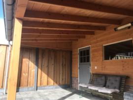 223) Douglashouten veranda