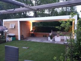 171) wit geschilderde Douglas veranda
