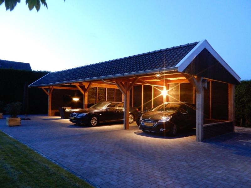 267) Multifunctionele carport