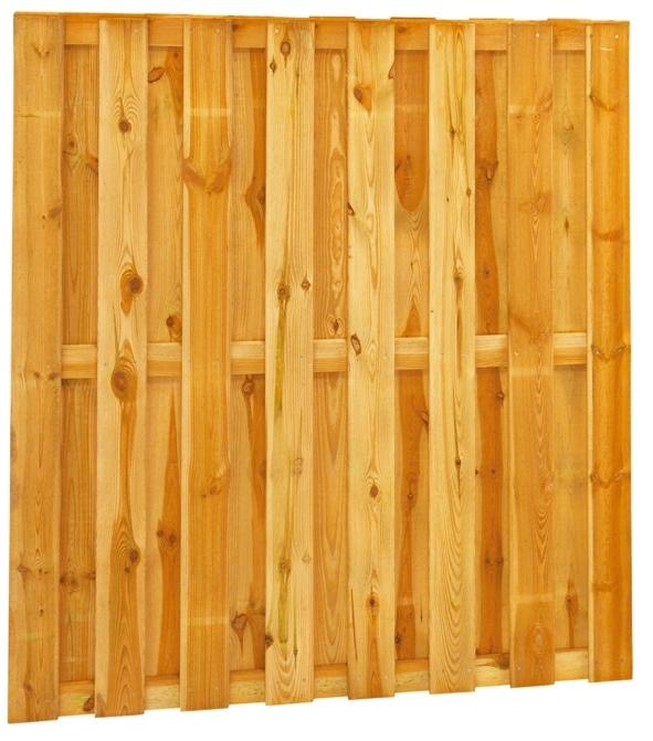 15-planks Grenen scherm 180 x 180 cm