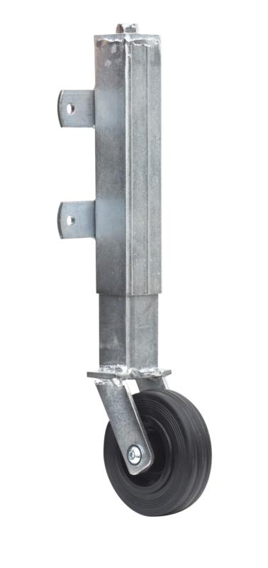 Poortwiel/steunwiel met veer 45 kg