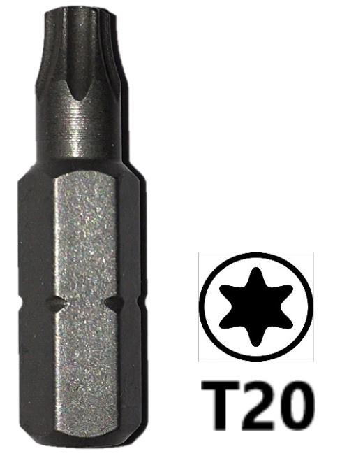 Schroefbit 25 mm Torx 20