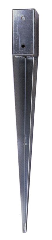 Palensteunen 10 x 10 x 75 cm verzinkt