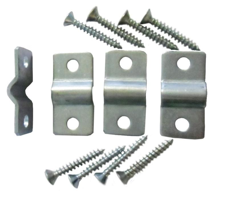 Montage beslag Set a 4 stuks voor beton matten