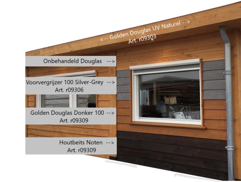 Houtbeits UV Golden Douglas Donker 100 1 liter