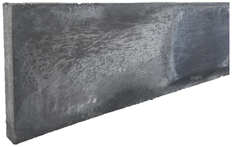 Betonplaat 4 x 25 x 220 cm Antraciet
