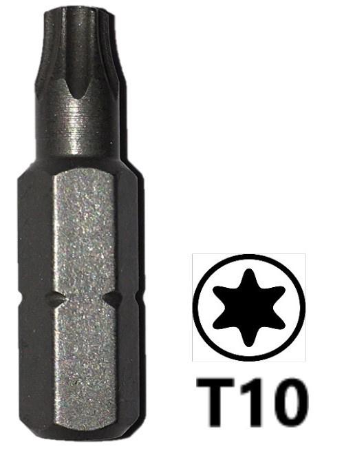 Schroefbit 25 mm Torx 10
