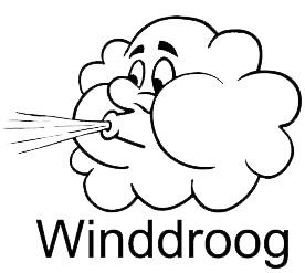 Douglashout winddroog