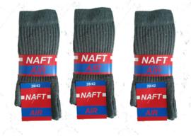 10 paar NAFT sport sokken ( grijs ) art,nr : 623