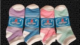 6 paar dames sneaker sokken  art,nr:603