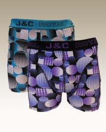 4 stuks J&C katoen herenboxershorts    art.nr:107