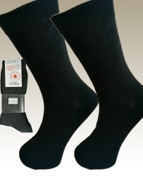 %100 katoen MEDICAL business  sokken (zwart )  8 paar  art.nr:442