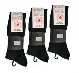 %100 katoen MEDICAL business sokken (donker blauw ) 8 paar  art no:475