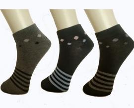 6 paar dames sneaker sokken  art,nr:614