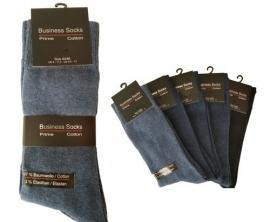 10 paar blauw business sokken art,nr: 480