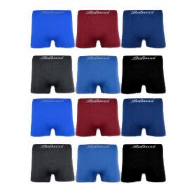 Naadloos  BELUCCI heren boxershorts  Set van 12 stuks art,nr: 521