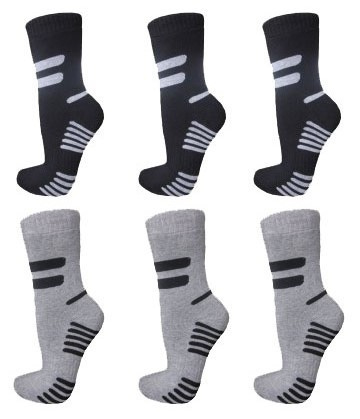 6 paar dikke ( mix ) THERMO sokken art,nr: 621