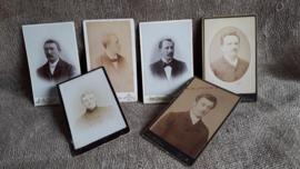 6 oude foto's met mannen